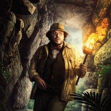 Jumanji: Benvenuti nella giungla, il character poster di Jack Black