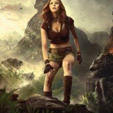 Jumanji: Benvenuti nella giungla, il character poster di Karen Gillan