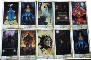 Le card della Tombstone Collection