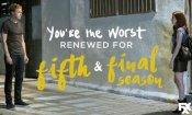 You're the Worst: la quinta stagione della comedy sarà l'ultima