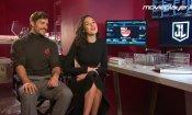 Justice League: Video intervista a Henry Cavill e Gal Gadot