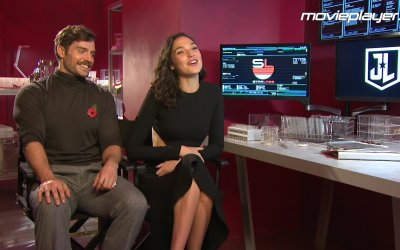 Justice League: Video intervista a Henry Cavill e Gal Gadot
