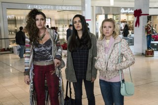 Bad Moms 2: Mamme molto più cattive, Mila Kunis, Kristen Bell e Kathryn Hahn in un momento del film