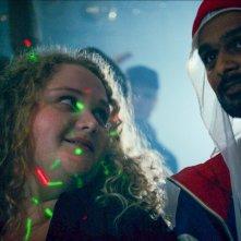 Patti Cake$: Danielle MacDonald e Siddharth Dhananjay in un momento del film