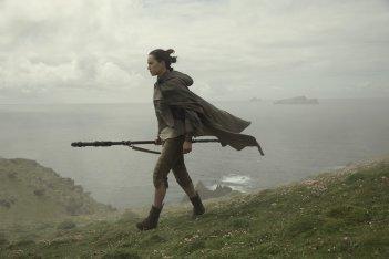 Star Wars: Gli Ultimi Jedi, Daisy Ridley in un momento del film