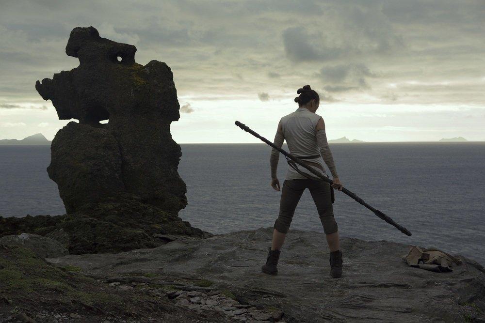 Star Wars: Gli Ultimi Jedi, Daisy Ridley in un'immagine del film