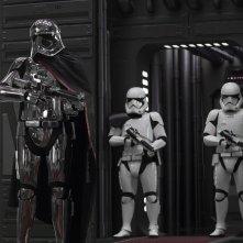 Star Wars: Gli Ultimi Jedi, Gwendoline Christie in un momento del film