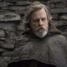 Star Wars: Gli Ultimi Jedi, Mark Hamill in una scena del film