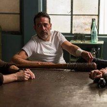 The Walking Dead: una scena con Jeffrey Dean Morgan nell'episodio The Big Scary U