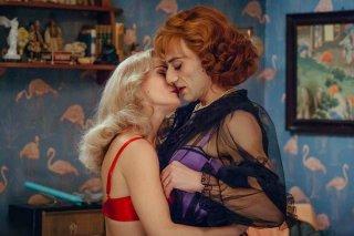 Favola: Filippo Timi e Lucia Mascino in una scena del film