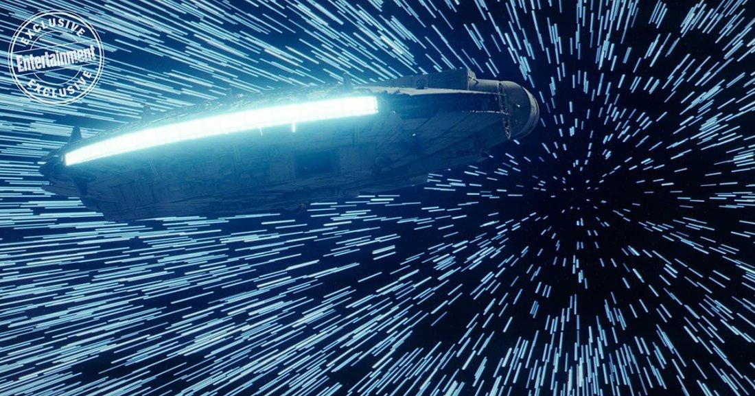 Star Wars The Last Jedi Falcon