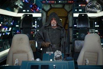 Star Wars: Gli Ultimi Jedi: Mark Hamill in una scena