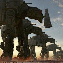 Star Wars: Gli Ultimi Jedi: una schiera di droidi