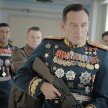 The Death of Stalin: Jason Isaacs in una scena del film