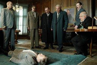The Death of Stalin: una scena del film