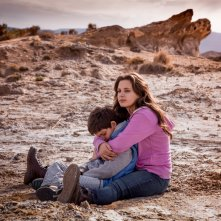 Tito e gli alieni: Chiara Stella Riccio e Luca Esposito in un momento del film