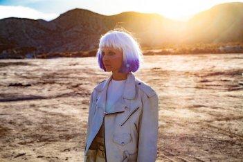 Tito e gli alieni: Clémence Poésy in una scena del film