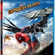 Il blu-ray di Spider-Man: Homecoming