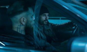 Gomorra 3: Ciro ed Enzo (Marco D'Amore e Arturo Muselli) e in una scena del terzo episodio