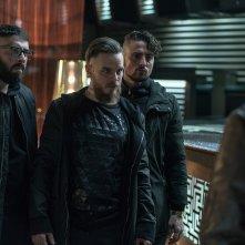 Gomorra 3: Arturo Muselli (al centro) in una scena del terzo episodio