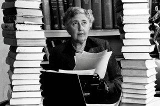 Un'immagine che ritrae Agatha Christie