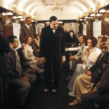 Assassinio sull'Orient Express: una momento del film