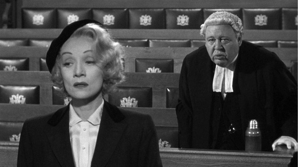 Testimone d'accusa: una scena del film