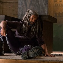 The Walking Dead: Khary Payton in una scena dell'episodio The King, The Widow and Rick