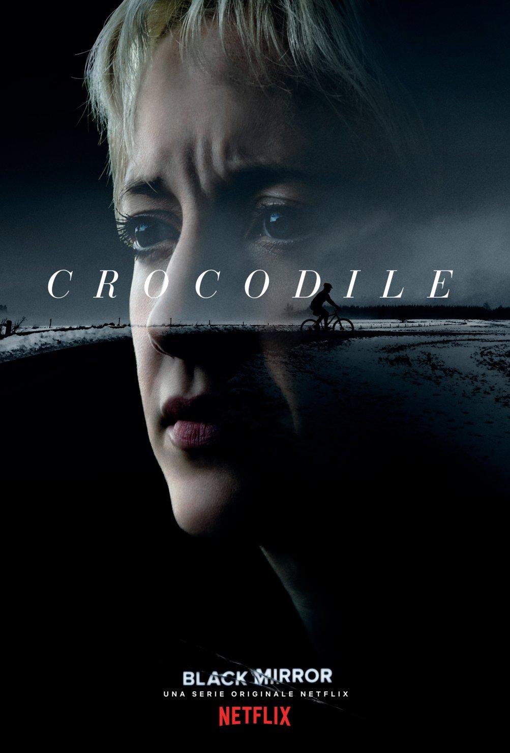 Black Mirror: il poster per l'episodio Crocodile