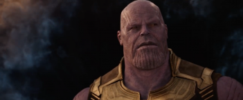 Avengers: Infinity War - Thanos in un'immagine del primo trailer