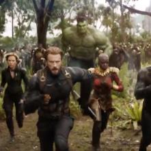 Avengers: Infinity War - una scena di gruppo nel primo trailer