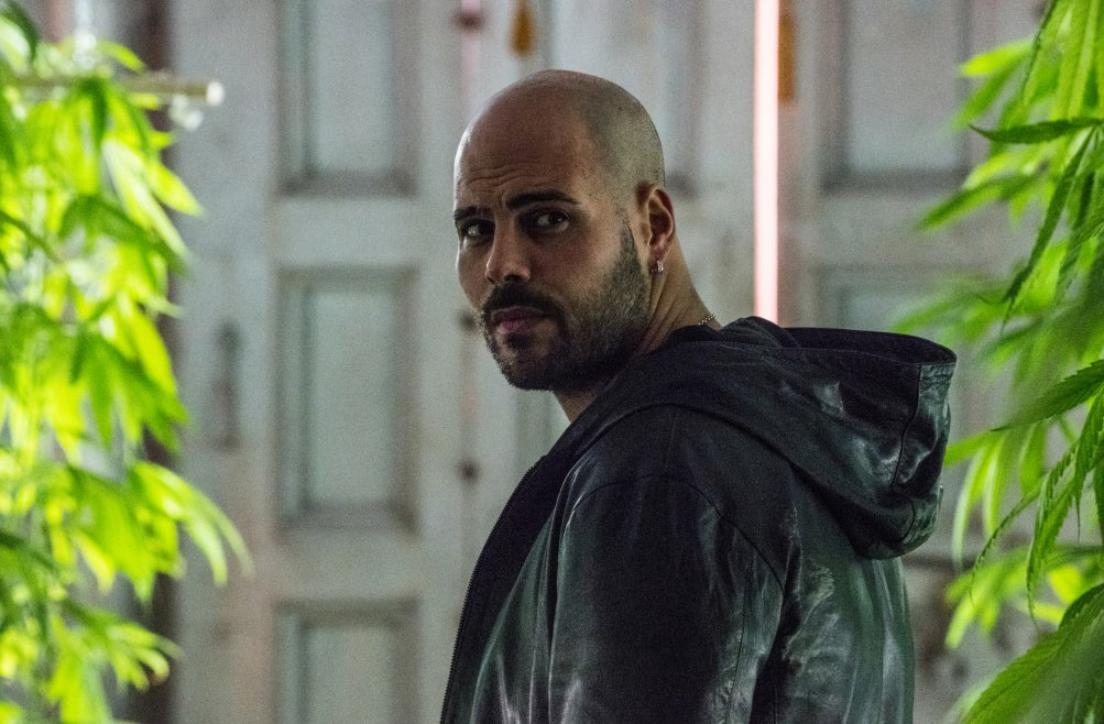 Marco D'Amore in Gomorra 3