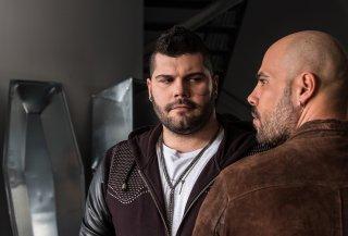 Salvatore Esposito e Marco D'Amore in Gomorra 3, sesto episodio