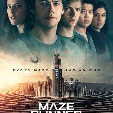 Maze Runner - La rivelazione, un poster del film