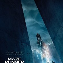 Maze Runner: The Death Cure, un poster del film