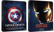 Su Amazon le Trilogie Steelbook da collezione di Captain America e Iron Man