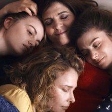 50 primavere: Agnès Jaoui, Pascale Arbillot, Lou Roy-Lecollinet e Sarah Suco in una scena del film