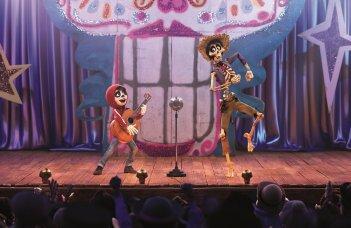 Coco: un'immagine tratta dal film animato