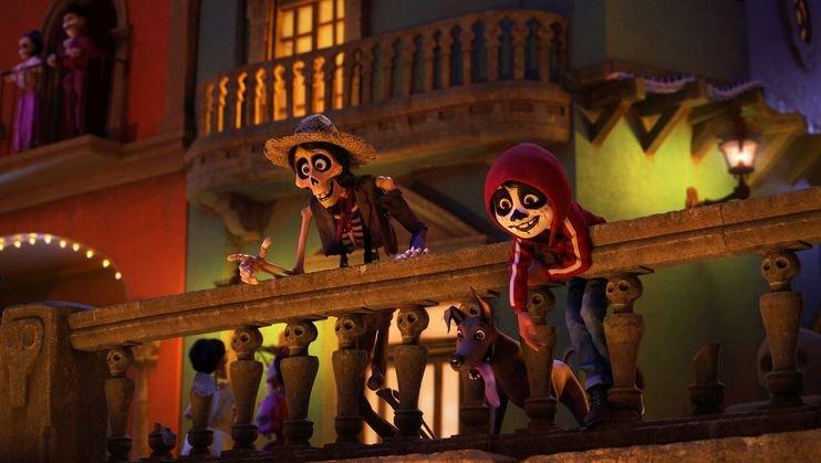 Coco: un'immagine tratta dal film d'animazione