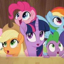 My Little Pony: Il film, una scena del film d'animazione