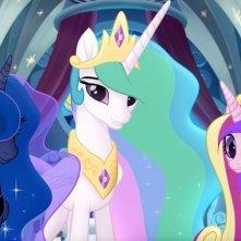My Little Pony: Il film, un'immagine tratta dal film animato