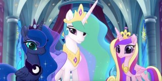 My Little Pony: Il film, un'immagine tratta dal film animato