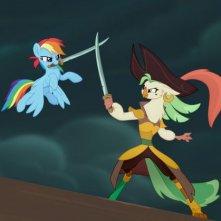 My Little Pony: Il film, un momento del film animato