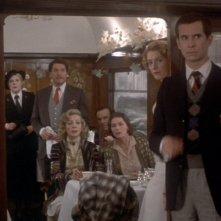 Assassinio sull'Orient Express: una scena di gruppo del film