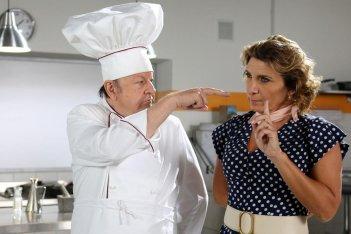 Natale da chef: Barbara Foria e Massimo Boldi in una scena del film