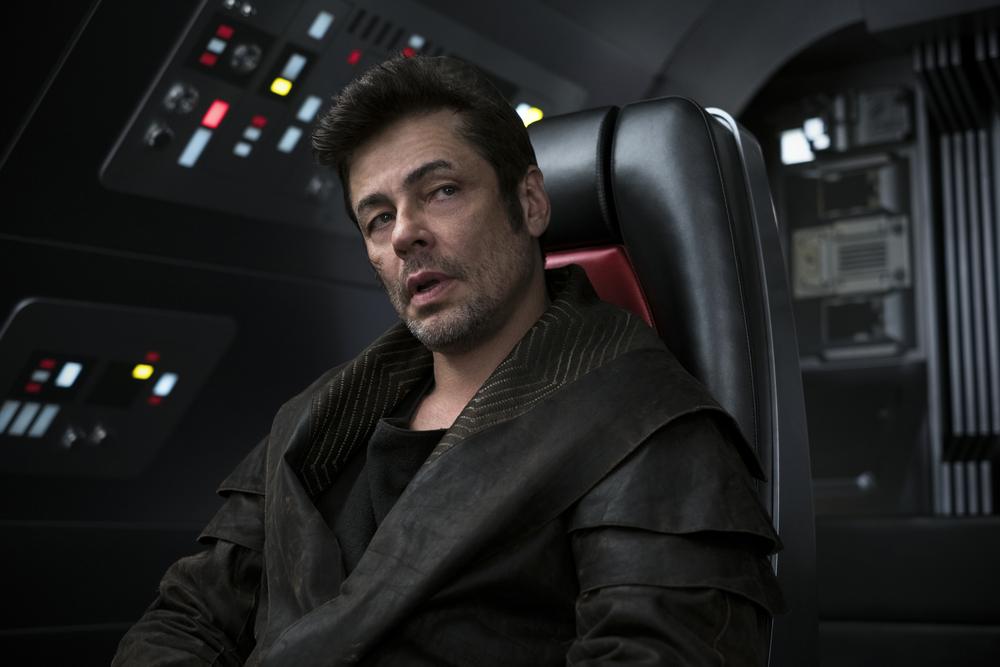 Star Wars Benicio Del Toro