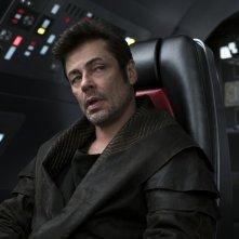 Star Wars: Gli Ultimi Jedi, Benicio Del Toro in un'immagine del film