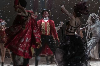 The Greatest Showman: Hugh Jackman in una scena del film