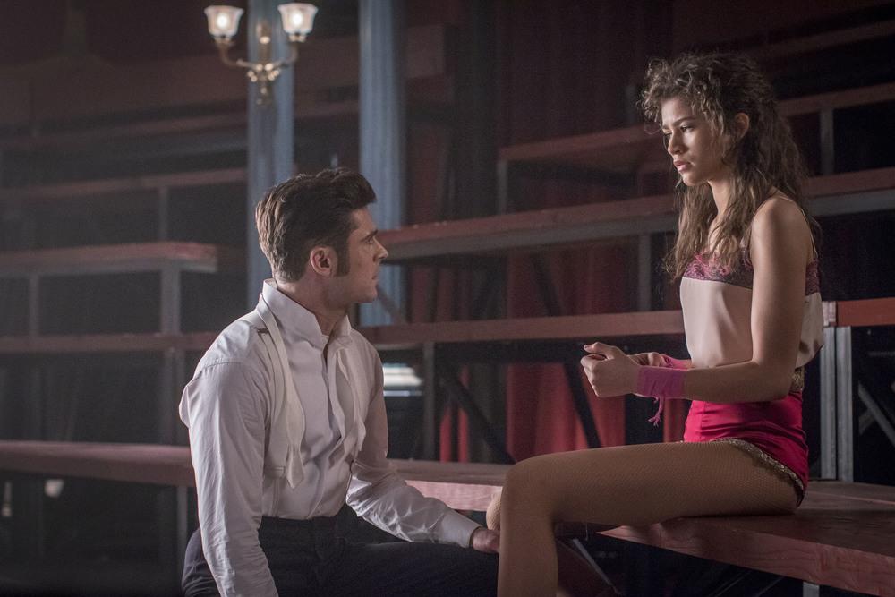 The Greatest Showman: Zac Efron e Zendaya in una scena del film