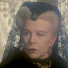 Assassinio sull'Orient Express: Wendy Hiller in un primo piano del film